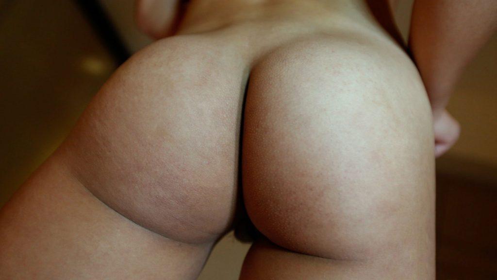 Ass butt asian pussy